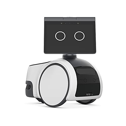 Introducing Amazon Astro, Household Robot for Home Monitoring, with Alexa, Includes 6-month Free Trial of Ring Protect Pro