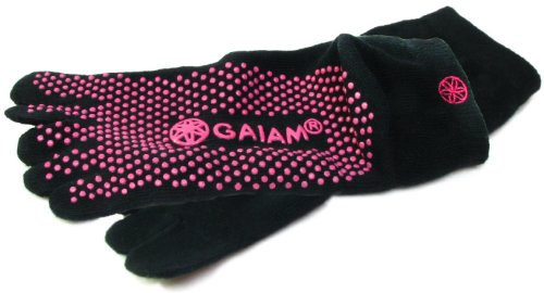 Gaiam Yoga Socks (Dot Pattern May Vary)