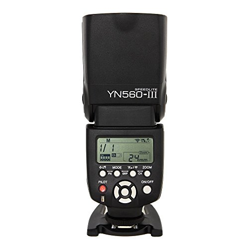 Yongnuo 1198321 YN560-III Wireless Flash Speedlite Support for Canon, Nikon, Pentax, Olympus