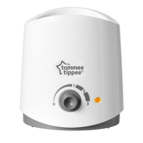 Tommee Tippee Closer to Nature Electric Baby Bottle and Food Warmer, Heats in 4 Minutes, Breast Milk Safe, BPA Free - White