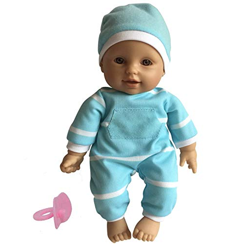11 inch Soft Body Doll in Gift Box - Award Winner & Toy 11' Baby Doll (Hispanic)