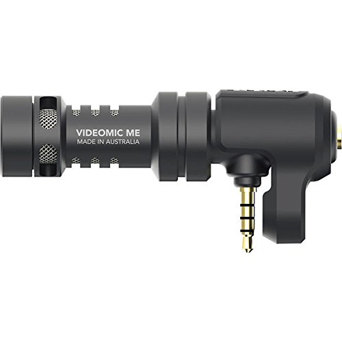 Rode VideoMic Me Compact TRRS Cardioid Mini-Shotgun Microphone for Smartphones