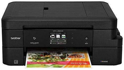 Brother Inkjet Printer, MFC-J985DW, Duplex Printing, Wireless Connectivity, Cost-Effective Color Printer, Business Capable Features, Amazon Dash Replenishment Ready