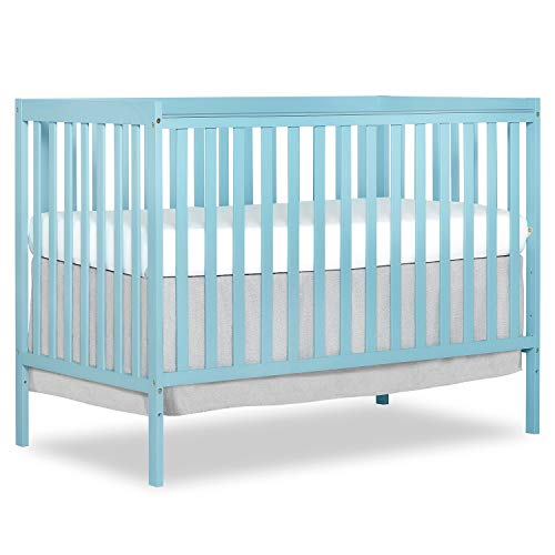 Dream On Me Synergy 5-in-1 Convertible, Crib, Fusion Coral