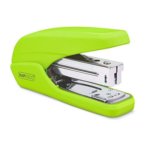 Rapesco X5-25ps Less Effort Stapler, 25-Sheet Capacity, Green (1395)