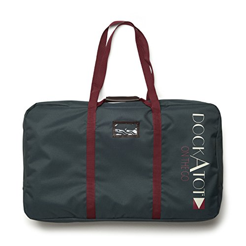 DockATot Deluxe Transport Bag (Midnight Teal) - The Perfect Travel Companion for Your DockATot