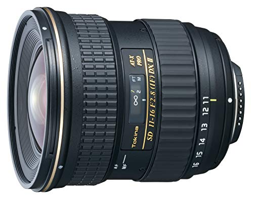 Tokina 11-16mm f/2.8 AT-X116 Pro DX II Digital Zoom Lens (AF-S Motor) (for Nikon)