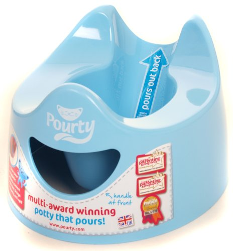 Pourty Easy-to-Pour Potty, White