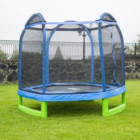 Bounce Pro Trampoline (7' My First Trampoline Hexagon (Ages 3-10) for Kids)
