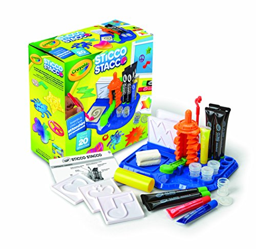 Crayola, Cling Creator, Art Activity, Make up to 20 Customized Clings, Easy Color Mixing, Sticks on Windows, Mirrors and Flat Surfaces