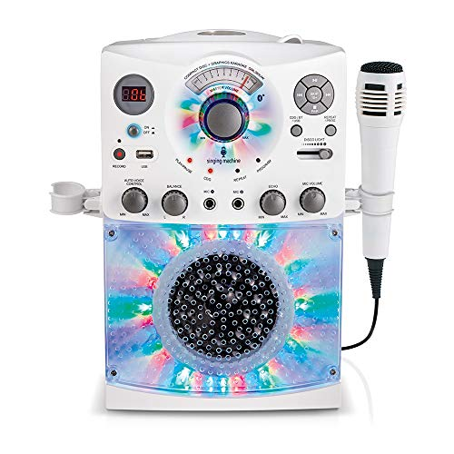 Singing Machine Karaoke System-Portable, (SML385BTW)