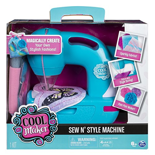 Cool Maker - Sew N' Style Sewing Machine with Pom-Pom Maker Attachment (Edition May Vary), 11