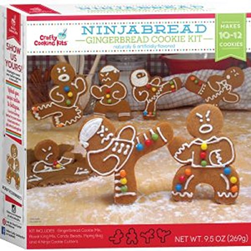 Ninjabread Gingerbread Cookie Kit 9.5 oz - 10-12 Cookies